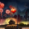 Worldwide celebration goes with Chinese New Year Fireworks