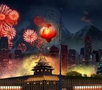 Worldwide celebration goes with Chinese New Year Fireworks