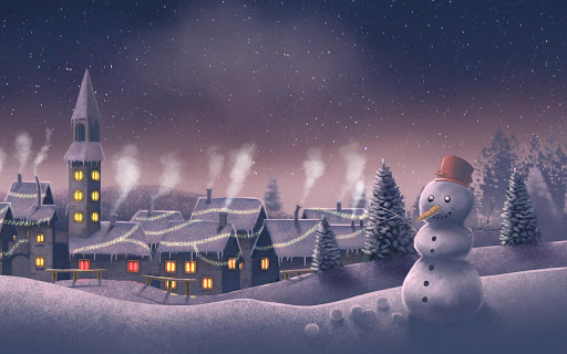 Christmas Land.Pocket Scientists Live Wallpapers