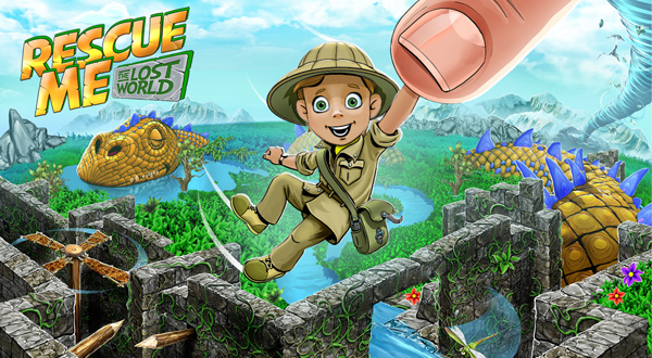 The Lost World is beautiful, but dangerous - you'll find spear traps, swinging logs, kamikaze pterosaurs and crazy mazes around every corner! Get past all of them to collect all ingredients to cure the giant dragon and save this mysterious land!