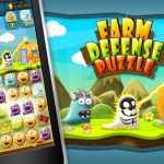 Farm Defense Puzzle, developed by Mad Jimmy Games, in partnership with indie publisher Pocket Scientists  is ready to download and play on Android. The game is a unique combination of connect colors and tower defense, and with further power ups and upgrades it makes a totally new game with never before seen playing style.